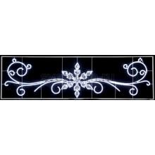 "Фигура световая ""Снежинка с кружевами"" размер 4.2х1.2м Neon-Night 503-101"