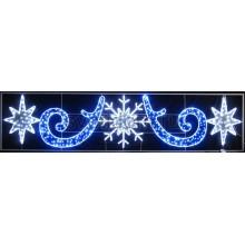 "Фигура световая ""Снежинка со звездами"" размер 5х1.2м Neon-Night 503-104"