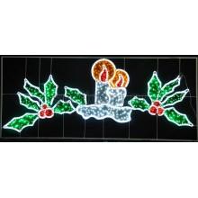 """Фигура световая """"Две свечи"""" размер 3.3х1.4м Neon-Night 503-107"""