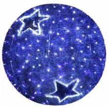 "Фигура ""Шар"", LED подсветка ф40 см, синий Neon-Night 506-212"