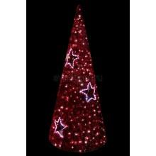 """Фигура """"Ель"""", LED подсветка диаметр 80см высота 180см, красная Neon-Night 506-261"""