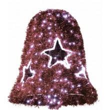 """Фигура """"Колокол"""", LED подсветка диаметр 75см высота 80см, красный Neon-Night 506-263"""