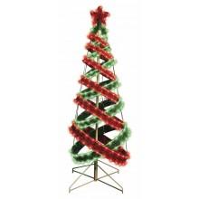 Елка в стиле Хайтек, размер 120см (402 светодиода красный+зеленый), с постоянным свечением Neon-Night 506-271