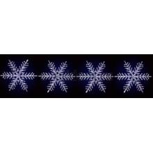 """Акриловая светодиодная фигура на каракасе """"4 снежинки"""" ф80 см, 458 светодиодов, IP44 понижающий трансформатор в комплекте Neon-Night 513-261"""