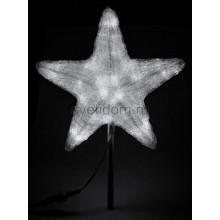 """Акриловая светодиодная фигура """"Звезда"""" 50см, 160 светодиодов, белая Neon-Night 513-455"""