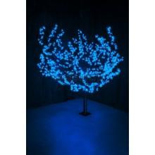 """Светодиодное дерево """"Сакура"""", высота 1,5м, диаметр кроны 1,8м, синие светодиоды, IP54, понижающий трансформатор в комплекте Neon-Night 531-103"""