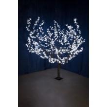 """Светодиодное дерево """"Сакура"""", высота 1,5м, диаметр кроны 1,8м, белые светодиоды, IP54, понижающий трансформатор в комплекте Neon-Night 531-105"""