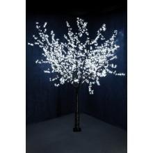 """Светодиодное дерево """"Сакура"""", выстота 2,4м, диметр кроны 2,0м, белые светодиоды, IP54, понижающий трансформатор в комплекте Neon-Night 531-125"""