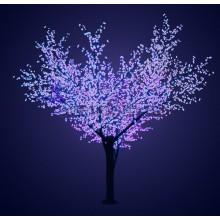 """Светодиодное дерево """"Сакура"""", высота 3,6м, диаметр кроны 3,0, синие светодиоды, IP64, понижающий трансформатор в комплекте Neon-Night 531-213"""