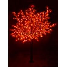 """Светодиодное дерево """"Сакура"""", высота 3,6м, диаметр кроны3,0м, красные светодиоды, IP54, понижающий трансформатор в комплекте Neon-Night 531-232"""