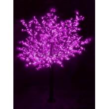 """Светодиодное дерево """"Сакура"""", высота 3,6м, диаметр кроны 3,0м, фиалетовые светодиоды, IP54, понижающий трансформатор в комплекте Neon-Night 531-236"""