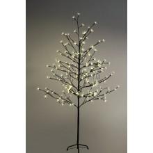 """Дерево комнатное """"Сакура"""", коричневый цвет ствола и веток, высота 1.5 метра, 120 светодиодов теплого белого цвета, трансформатор IP44 Neon-Night 531-267"""