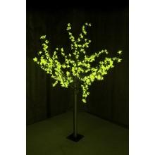 """Светодиодное дерево """"Сакура"""", высота 1,5 м, диаметр кроны 1,3м, зеленые диоды, IP 44, понижающий трансформатор в комплекте Neon-Night 531-304"""