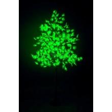 """Светодиодное дерево """"Клён"""", высота 2,1м, диаметр кроны 1,8м, зеленые светодиоды, IP 65, понижающий трансформатор в комплекте Neon-Night 531-514"""