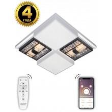 Светодиодная люстра Natali Kovaltseva HIGH-TECH LED LAMPS 82011 240W белый 2700/4300/7000K с пультом