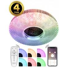 Светодиодный светильник Natali Kovaltseva LED LAMPS 81083 80W белый 2700/4300/7000K+RGB с пультом