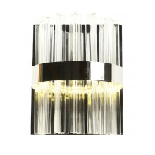 Светодиодное бра нимб Natali Kovaltseva LED LAMPS 81101/1W 35W хром 3200/4300/6500K с пультом