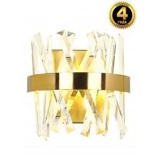 Светодиодное бра нимб Natali Kovaltseva LED LAMPS 81102/1W 35W золото 3200/4300/6500K с пультом