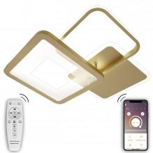 Потолочная светодиодная люстра Natali Kovaltseva LED LAMPS 81308 120W Золото 2700 / 4300 / 7000K