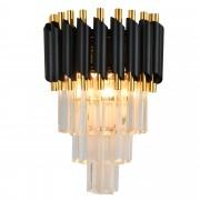 Бра Natali Kovaltseva DARIAN 76017/2W GOLD BLACK 40W Чёрный