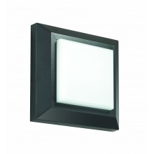 Настенный светодиодный светильник Novotech 357419 Kaimas 3 Вт 3000К, темно-серый