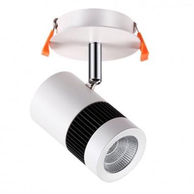 Спот Novotech Solo 357458 матовый белый 10 Вт 100-240V IP20 3000К