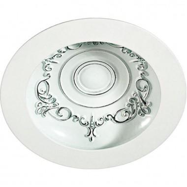 Встраиваемый светильник Novotech Gesso 357491 белый/хром 15Вт 85-265V IP20 3000К