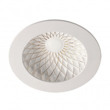 Встраиваемый светильник Novotech Gesso 357503 белый/золото 9 Вт 85-265V IP20 3000К