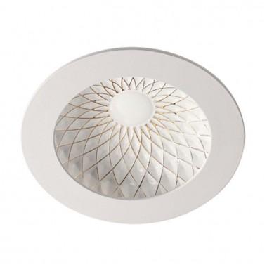 Встраиваемый светильник Novotech Gesso 357504 белый/золото 15Вт 85-265V IP20 3000К