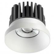 Встраиваемый светодиодный светильник Novotech Metis 357585 белый 10 Вт 100-265V IP44 3000K