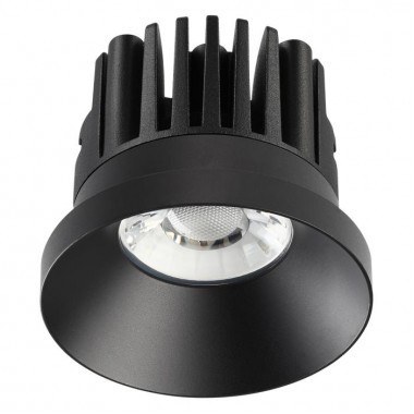 Встраиваемый светодиодный светильник Novotech Metis 357586 черный 10 Вт 100-265V IP44 3000K