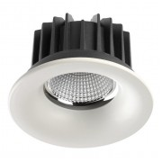 Встраиваемый светодиодный светильник Novotech Drum 357602 белый 10 Вт 100-265V IP44 3000K