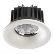 Встраиваемый светодиодный светильник Novotech Drum 357604 белый 30 Вт 100-265V IP44 3000K