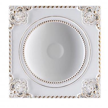 Встраиваемый светильник Novotech Novel 357616 белый/золото 18 Вт 85-265V IP20 3000K