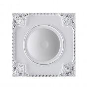 Встраиваемый светильник Novotech Novel 357617 белый/хром 7 Вт 85-265V IP20 3000K
