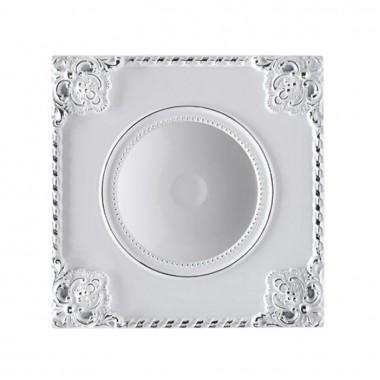 Встраиваемый светильник Novotech Novel 357618 белый/хром 9 Вт 85-265V IP20 3000K