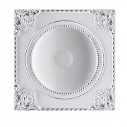 Встраиваемый светильник Novotech Novel 357619 белый/хром 12 Вт 85-265V IP20 3000K