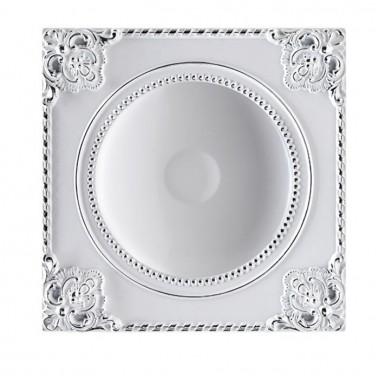 Встраиваемый светильник Novotech Novel 357620 белый/хром 18 Вт 85-265V IP20 3000K