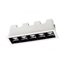 Встраиваемый светильник Novotech Antey 357621 белый/черный 10 Вт 160-265V IP20 3000K