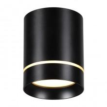 Накладной светильник Novotech Arum 357685 черный 9 Вт 160-265V IP20 3000K