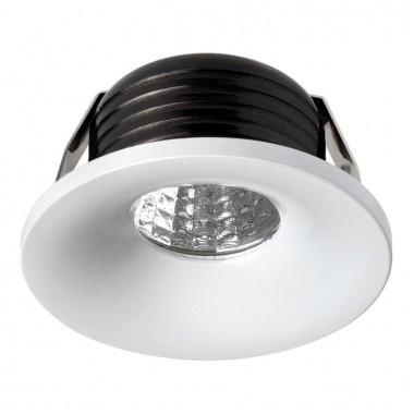 Встраиваемый светодиодный светильник Novotech Dot 357700 белый 3 Вт 160-265V IP20 3000K