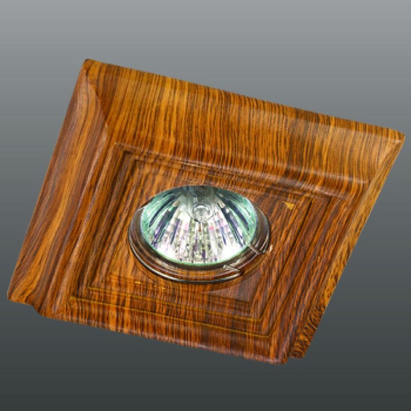 Точечные светильники под дерево в интерьере фото