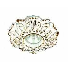 Точечный светильник Novotech 370323 Pattern ф150 мм белый, золото