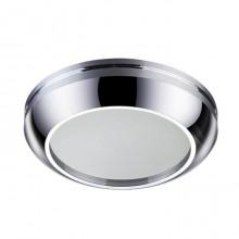 Встраиваемый светильник Novotech Damla 370386 хром 50 Вт 12V IP44
