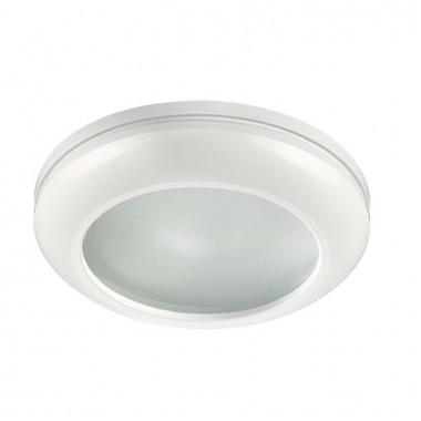 Встраиваемый светильник Novotech Damla 370387 белый 50 Вт 12V IP44