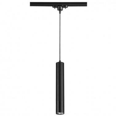 Трековый светильник Novotech Pipe 370401 черный 50 Вт 220V IP20