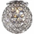 Точечные светильники из стекла, хрусталя и алюминия
