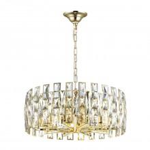 Люстра хрустальная Odeon Light 4121/10 Diora золото/хрусталь E14 10*40 Вт