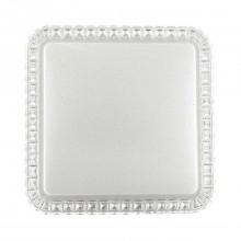 Потолочный светильник LED Cонекс 2035/DL Karola белый/прозрачный LED 48 Вт 3000-6000K