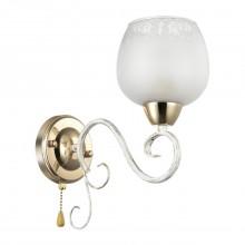 Бра Lumion 3505/1W Biancopa белый, золотая патина E27 60 Вт